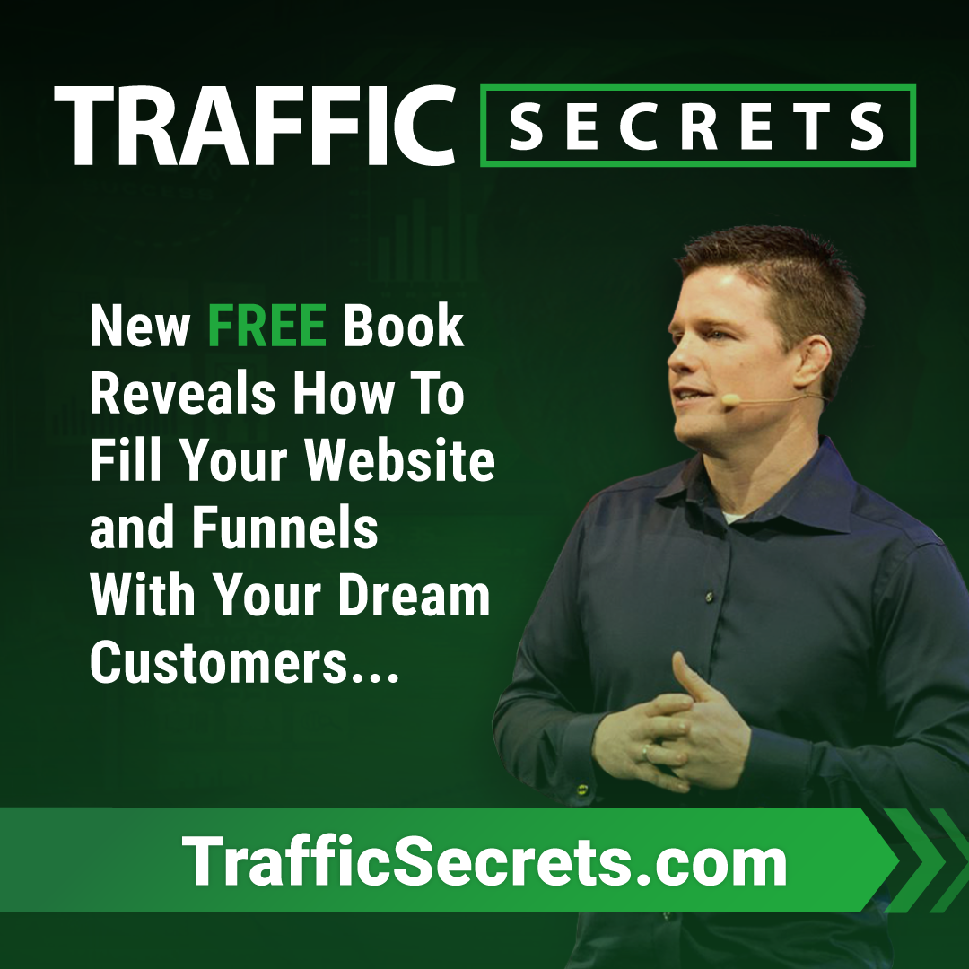 Traffic Secrets Book Image